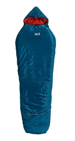 Jack Wolfskin Grow Up Comfort - Sac de couchage - bleu